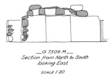 Maps and plans: G 7509, Shaft M