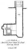Maps and plans: G 7523, Shaft A