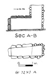 Maps and plans: G 7243, Shaft A