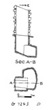 Maps and plans: G 7243, Shaft D