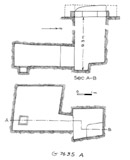 Maps and plans: G 7635, Shaft A