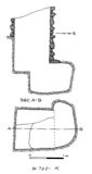 Maps and plans: G 7691, Shaft K