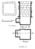 Maps and plans: G 4920, Shaft A