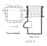 Maps and plans: G 5130, Shaft B