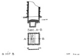 Maps and plans: G 1107, Shaft B