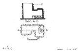 Maps and plans: G 1177, Shaft D