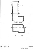 Maps and plans: G 1304, Shaft A