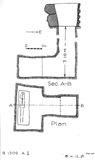 Maps and plans: G 1309, Shaft A