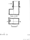 Maps and plans: G 1401, Shaft D