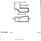 Maps and plans: G 2026a, Shaft A