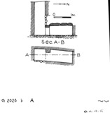 Maps and plans: G 2026b, Shaft A