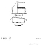 Maps and plans: G 2033, Shaft E