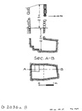 Maps and plans: G 2036a, Shaft B