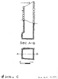 Maps and plans: G 2036a, Shaft C