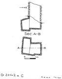 Maps and plans: G 2042a, Shaft C