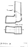 Maps and plans: G 2054, Shaft B