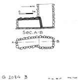 Maps and plans: G 2084, Shaft B
