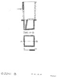 Maps and plans: G 2241, Shaft B