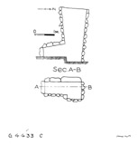 Maps and plans: G 4433, Shaft C
