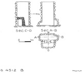 Maps and plans: G 4512, Shaft B