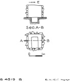 Maps and plans: G 4519, Shaft B