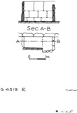 Maps and plans: G 4519, Shaft E