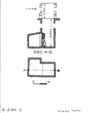 Maps and plans: G 2184, Shaft C