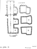 Maps and plans: G 2184, Shaft D