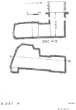 Maps and plans: G 2187, Shaft A