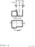 Maps and plans: G 2187, Shaft G