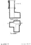 Maps and plans: G 2362, Shaft A