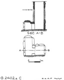 Maps and plans: G 2402a, Shaft C