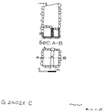 Maps and plans: G 2402b, Shaft C