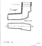 Maps and plans: G 5331, Shaft A
