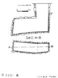 Maps and plans: G 5331, Shaft B