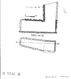 Maps and plans: G 5332, Shaft B (S 806a)