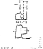 Maps and plans: G 2397, Shaft D