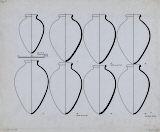 Drawings: G 7000 X: pottery, jars