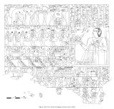 Drawings: G 7102: relief from S wall, scenes of games and music