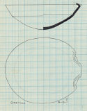 Drawings: G 1223-Annex, Shaft X: pottery, carinated bowl with lip spout