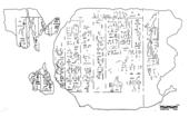 Drawings: Menkaure Valley Temple: decree of Pepi II