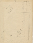 Maps and plans: G 2120, Shaft A, section
