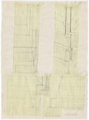 Drawings: G 7310-7320: G 7310, Sketch elevations of NW corner