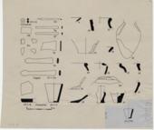 Drawings: G 7410-7420: G 7410, Shaft B: debris from chamber
