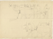 Drawings: G 5080: relief from E wall