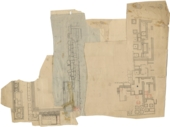 Maps and plans: Plan of Cemetery G 1200, with G 1308-1311