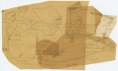 Drawings: Street G 7000 (originally G I-b chapel): relief fragments