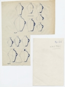 Drawings: Pottery, jars with two handles from G 1031, G 1224, G 2175, G 2379, G 2381, G 4340, G 4630, G 5290, G 7560, G 7650