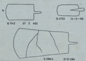 Drawings: Razors, copper, from G 2381, G 4733, G 7143