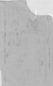 Drawings: G 7721: relief from middle column, N